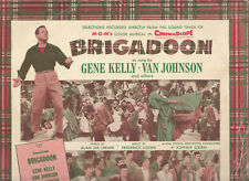 Brigadoon-1954-Original Movie Soundtrack-[Made In Australia]-10 Track-Record LP