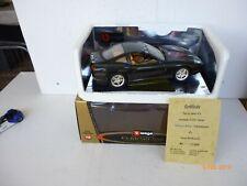 Burago 1/18 Scale  FERRARI 550 MARNELLO 1996 BLACK AIRBRUSCH VERSION LIM EDITION