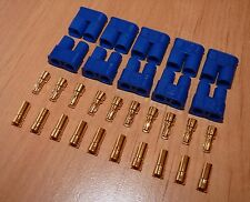 5 Paar EC3 Goldstecker Stecker 3,5mm Bananenstecker Connector Goldkontakt Gold