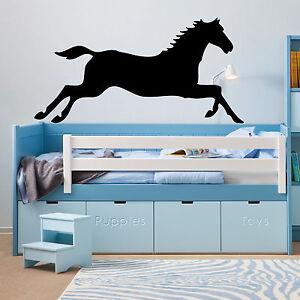 Galloping Horse  vinyl wall sticker  bedroom office van car  decal