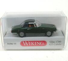 Glas 1700 GT Cabrio (dark green/black)