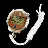 Digital Handheld LCD Stopwatch Sports Chronograph Counter Timer Watch