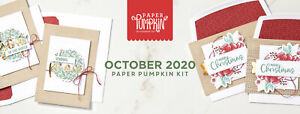 Stampin' Up Paper Pumpkin October 2020 Joy To The World Kit