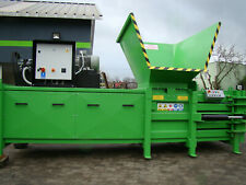 Horizontal baler - waste press - waste compactor Bartontech 400+