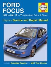 Haynes Owners  +  Workshop Car Manual Ford Focus Petrol  +  Diesel 98-01 H3759