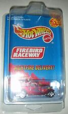 Red Nightfire Delivery Limited Edit. Firebird Raceway Hot Wheels In Plastic Case