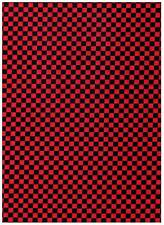 Going Places Red & Black Checks Fabric by RL Studio PRICE REDUCED