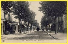 cpa 94 - IVRY sur SEINE (Val de Marne) Rue de Seine EPICERIE COMMERCES