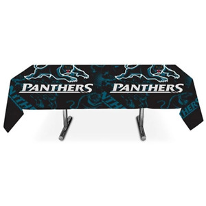 PENRITH PANTHERS NRL OFFICIAL TABLECOVER 200 X 100CM