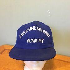 Vintage Philippine Military Academy Hat Cap Baseball Snapback VGUC