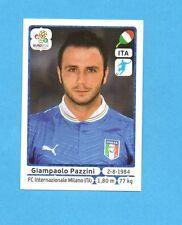 PANINI-EURO 2012-Figurina n.334- PAZZINI - ITALIA -NEW