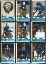 BUFFALO SABRES 1974-75 Hockey Card Style Team Photo Set 28 Photo Cards MINT