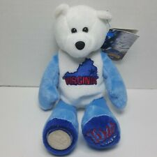 Virginia Limited Treasures Coin Bear Beanie State Quarter #10 Retired Mint