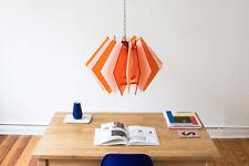 Farbige Deckenlampe, Hängeleuchte, Esszimmer Lampe, Laser cut Lampenschirm, Sale