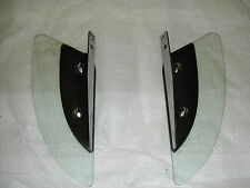 MOTORCYCLE LOWER WIND DEFLECTORS (LEFT AND RIGHT) WITH 7/8 INCH MOUNTING HOLES