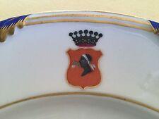 Porzellan Wappenteller ADELSWAPPEN APPONYI, Grafen & Barone, ungarischer Adel!