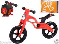 """Pop Bike Children Kids Learning Balance Bike 12"""" EN71 & CE Certified Safety RED"""