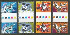 Australian Stamps: 2006 Extreme Sports - Set of 4 x 2 Gutter