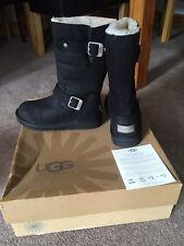 Genuine new Black Ugg Australia Kensington Winter Boots Womens Uk Shoe Size 3.5