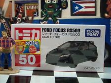TOMICA #50 FORD FOCUS RS500 1/62 SCALE NEW IN BOX