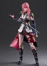 Authentic PlayArts Dissidia Final Fantasy Lightning Action Figure no box