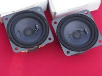Isophon BPSL 65 Pair, NOS in box, 8 OHMS