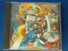 PS1 Rockman X4 Megaman Japan PS PlayStation 1 F/S