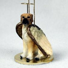 Great Dane Uncropped Fawn Dog Angel Tiny One Ornament Figurine Statue
