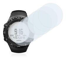 Suunto Core Regular Black Watch, 6 x Transparent ULTRA Clear Screen Protector