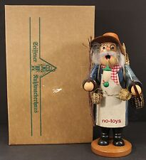 "Ulbricht German Wooden Nutcracker Smoker ""Korbmacher� 35 239 New"