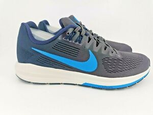 Nike Air Zoom Structure 21 UK 6 Obsidian Blue Hero 904695-404