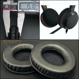 Soft Leather Ear Pads Foam Cushion EarMuff For Jabra Evolve 20 Series Headphones