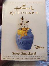 DISNEY HALLMARK KEEPSAKE POOH SWEET SMACKEREL CHRISTMAS ORNAMENT - ORIG BOX