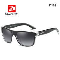 DUBERY Unisex UV400 Polarized Sunglasses Fashion Vintage Glasses For Men/Women