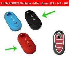 Cover chiave guscio in silicone per Alfa Romeo Giulietta Mito Brera 159 147 166