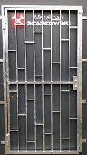Gittertür Feuerverzinkt Einbruchschutz - Modell Leiter