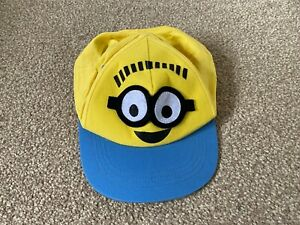 George - Boys Yellow & Blue Despicable Me Minions Baseball Cap Age 4-8 Years