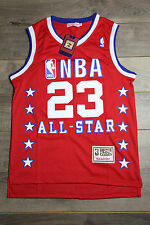 Michael Jordan #23 Red All Star Hardwood Classics Swingman Basketball Vintage