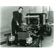 The Munsters Fred Gwynne as Herman Working on Coach 8 x 10 inch Photo