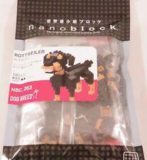 Kawada nanoblock Mini ROTTWEILER - japan building toy NEW NBC_263  Worldwide