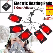 almohadilla térmica Eléctrica Ropa Placa plancha de tela calefactable chaqueta