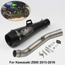 Slip for Kawasaki Z800 2013-2016 Motorcycle Exhaust Muffler Tube Mid Link Pipe