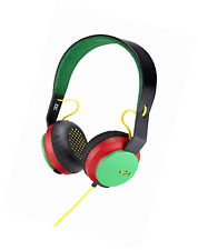 House of Marley Roar - On-Ear Headphones with Microphone, Easy 1 Button Control,