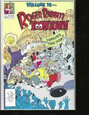Roger Rabbit's ToonTown, #1, Walt Disney Comic, High Grade