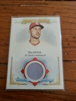 2020 Topps Allen & Ginter #FSRB-PD Paul Dejong Game Used Relic Cardinals