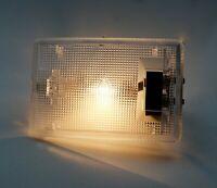 HELLA Innenraumleuchte 2JA 002 811-027 Universal 12V geklemmt Lampe  102x68 mm