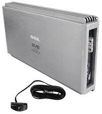 SSL EVO5000.1 5000W Class D 1 Ohm Stable Mono Car Audio Amplifier + Bass Remote