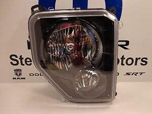 10-12 Jeep Liberty Renegade Tinted Headlamp Head Lamp Right Mopar Genuine Oem
