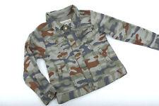 L298/56 Carter's Green Camuflage Cotton Denim Style Jacket,age 6