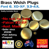 New Brass Welch Welsh Freeze Core Plug Set Kit Fits Ford Falcon 6 3.3-4.1 XC-XD